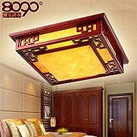 Lilamins Decke Lampsled Wohnzimmer Licht Antiken Pergament Lampen Kreisen Restaurant Lampe Holz Schlafzimmer