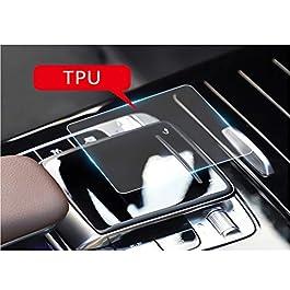 LFOTPP Pellicola protettiva per Mercedes Benz Classe A 2019 Console Control Mouse centrale