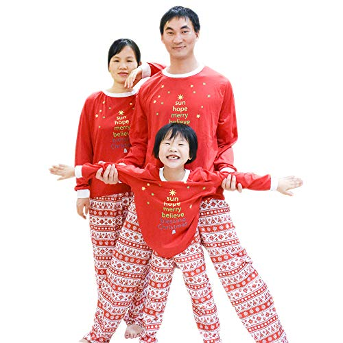 118126107f BOZEVON Conjunto de Pijama de Navidad Familiar - Set de Pijama de Navidad  Niños Mamá