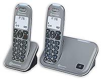 Amplicomms PowerTel 1702 Amplified Duo Cordless Phone