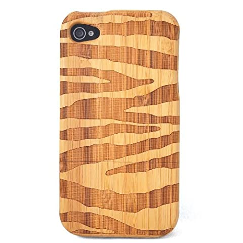 SunSmart(TM) Natural Handmade hard wood Bamboo Case Cover for iPhone