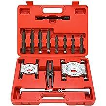 FreeTec Juego de 14 piezas de extractores de rodamientos y cuchillas divisorias