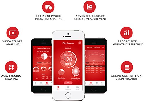 Zoom IMG-3 qlipp sensore tennis unisex adulto