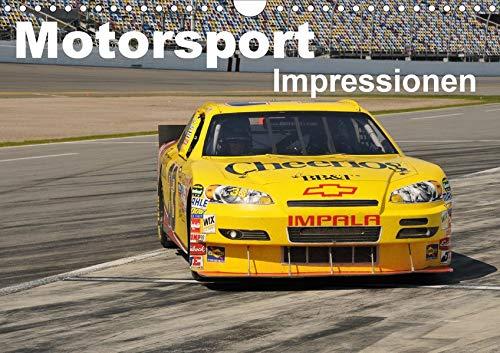 Motorsport - Impressionen (Wandkalender 2020 DIN A4 quer): 13 faszinierende Seiten aus der Welt des Motorsports in einem Kalender (Monatskalender, 14 Seiten ) (CALVENDO Sport)