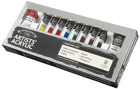 Winsor & Newton Artists Acrylic Paint Painting Set (8x20ml)