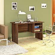 Klaxon Oak Engineered Wood Study Table, Laptop, Computer Table Desk for Home & Office (Wal