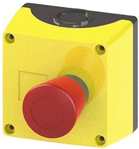 (Siemens–Caja Metalica ohne Halskette Schutz 1NC oben gelb)