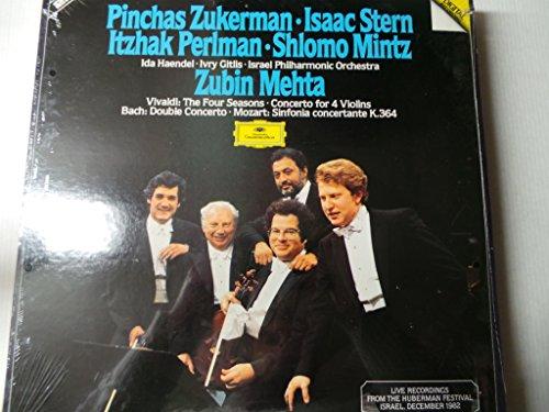 VIVALDI, Antonio: The Four Seasons, op.8; Concerto for 4 Violins op.3 nr.10 Rv.580 - MOZART, Wolfgang Amadeus: Concertante Symphony, Kv.364 - BACH, J.S: Double Concerto Bwv.1043 - (Series 580)