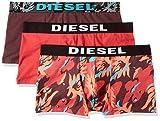 Diesel 00SAB2, Bóxer para Hombre, Rojo (Red 02), Large (Tamaño del fabricante:L)