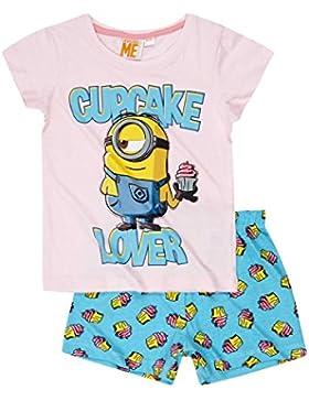 Minion Shorty Pyjama Pink 2016 Kollektion