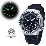"""Military Taucher Uhr """"Automatik Werk"""" Saphir Glas – verschraubte Krone T251 - 2"""