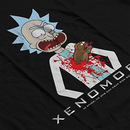Chestburster Xenomorty Rick And Morty Alien Men's Vest Black