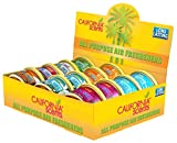 California Scents cg-12ct Cool Gels, Set von 12