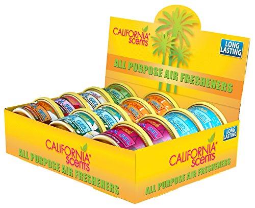 California Scents CG-12CT Kühlgele, 12 Stück