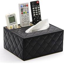 DM&Y 2017 Continental caja de la servilleta de caja del tejido creativo de doble bandeja de bombeo contenedor palillos restaurante multifunción condimento . # 5