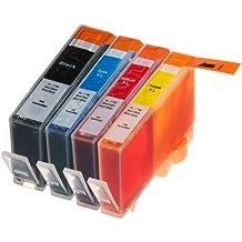 4 Multipack de alta capacidad HP 920 Cartuchos Compatibles 1 negro, 1 ciano, 1 magenta, 1 amarillo para HP Officejet 6000, Officejet 6500 AIO WL E710N, Officejet 6500 Wireless, Officejet 7000 E809A, Officejet 7500 WF AIO E910A, Officejet 6500 AIOS, Officejet 7000 Wide Format. Cartucho de tinta . CD972AE , CD973AE , CD974AE , CD975AE © 123 Cartucho