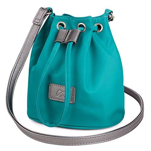 Primavera ed estate sacchetto di nylon/Sacchetto del panno di Oxford/Borsa a tracolla/Piccoli campi respirano borsa di tela dolce-D