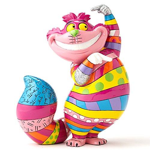 Enesco 4051799 Disney Tradition Cheshire Cat Figur (Britto Katze Figuren)