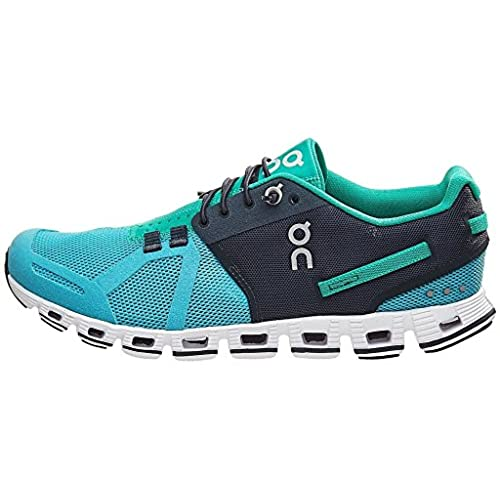 On Cloud Women's Running Shoes (Atoll/Green, 7 UK)