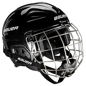 Bauer Erwachsene Helm Helmet LIL Sport Combo mit Gitter