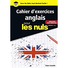 Cahier d'exercices anglais débutant/faux débutant pour les Nuls grand format