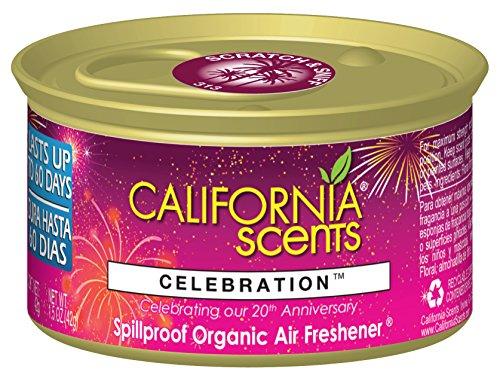 Preisvergleich Produktbild California Scents - Celebration Jubiläumsduft Duftdose fürs Auto