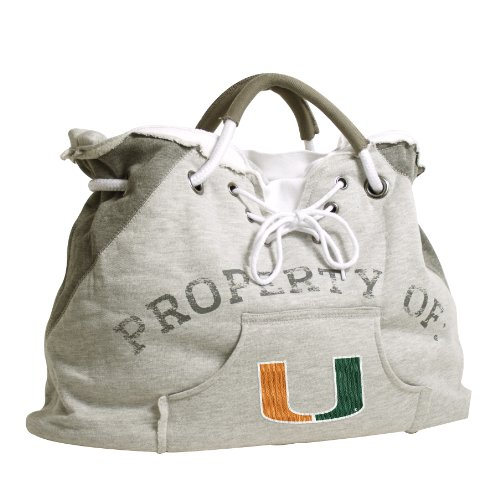 Pro NCAA Hoodie Tote, Miami Hurricanes, Gray (Jersey Basketball Florida)