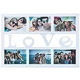 Love Bilderrahmen Fotorahmen Bildergalerie Foto-Collage Galerierahmen Wechselrahmen Bilderhalter