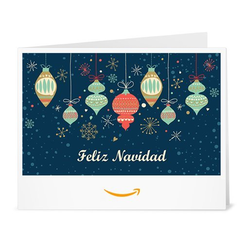 Cheque Regalo de Amazon.es - Imprimir - Decoraciones de Arbol de Navidad