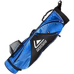 Longridge–X-Lite lápiz bolsa de golf, color negro, 12,7cm)