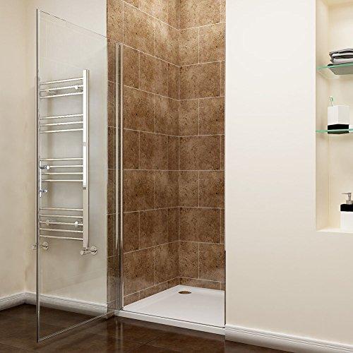 Rahmenlose Duschtür aus Klarglas - 2