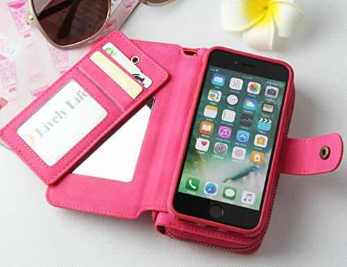 custodia iphone 6 mirror pelle