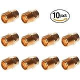 PROCURU 3/4-Inch Copper Male Adapter CxM, NSF Lead Free Certified (0.75 inch, 10-Pack)