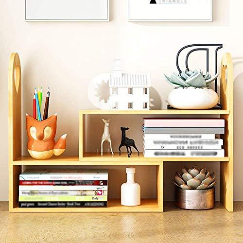 YANG Home Schlafzimmer Bücherregal Bücherregal Einfache Tabelle Student Regal Kombination Lagerung Regal Einfache Moderne kleine Bücherregal, Student Schlafsaal Bett Bücherregal -