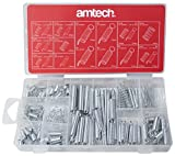 Amtech S6210 Assorted Spring, Clear, 150-Piece