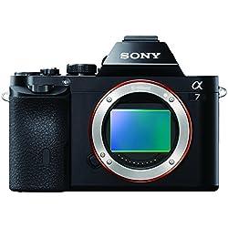 Sony ILCE-7 Appareil Photo Numérique Hybride Boitier Nu, Capteur Plein Format 35mm, 24 Mpix