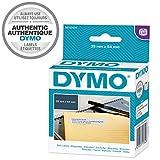 Dymo LW Große, selbstklebende Rücksendeetiketten, für LabelWriter, Originaletiketten, 1 Rolle mit 500 leicht abziehbaren Etiketten, 25 mm x 54 mm