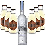 Moscow Mule Set - Belvedere Vodka 70cl (40% Vol) + 6x Goldberg Intense Ginger 200ml