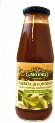 Bio Idea Organic Pasta Sauce Natural - 680gm