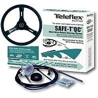 Teleflex Safe-T QC kompl mit Steuerrad. Steuerseele 12 Fuß 366cm bis 235PS