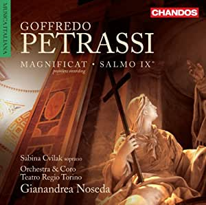 Petrassi: Magnificat/ Psalm IX (Sabina Cvilak, Gianandrea Noseda, Teatro Regio Torino) (Chandos: CHAN 10750)