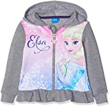 Disney Frozen Frozen, Felpa Bambina, Grigio Light Grey Melange, 4 Anni