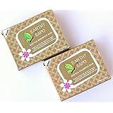 Earthy Sapo Reetha Shampoo Bar suitable for dry hair 100g- Pack of 2