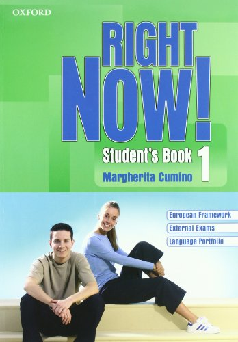 Right now! Language essentials. Student's book-Workbook-Portfolio. Per le Scuole superiori. Con CD Audio. Con CD-ROM.
