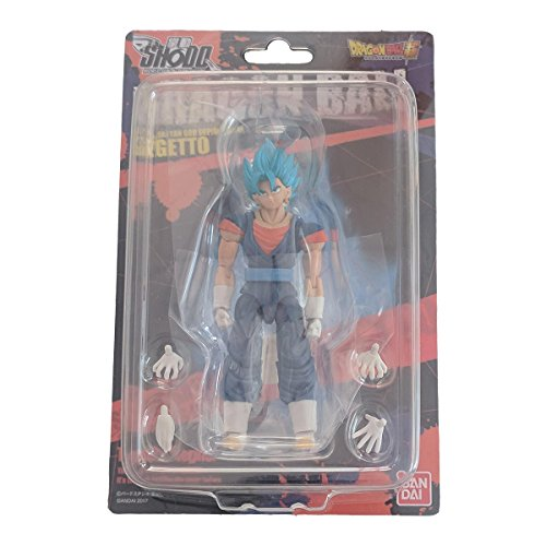 Dragon Ball Vegetto Super Saiyan God Super Saiyan by Bandai (World Fun Action Figure)