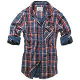 Brandit KATHY Damen Karo Bluse Shirt Hemd doubleface red Größe S