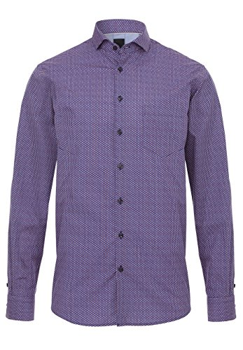 Pure - Chemise business - Homme Druck rot