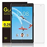 IVSO Lenovo Tab 4 8 PLUS Pellicola Protettiva, Schermo in Vetro Temperato per Lenovo Tab4 8 Plus TB-8704X Tablet (Tempered Glass - 1 Pack)