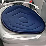 #7: HITSAN INCORPORATION Car Rotating Seat Mobility Aid Cushion with Memory Foam Home