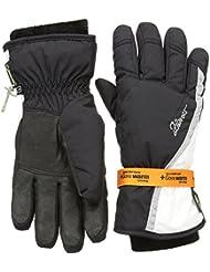 Ziener Guantes KINNIA GTX R Gore cálido Lady Gloves, mujer, color Negro - blanco/negro, tamaño 7